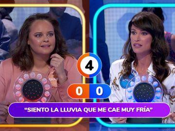 """Roberto Leal provoca la """"agonía"""" de Sonia Ferrer y Shaila Dúrcal que terminan 'Llorando por ti' en 'La Pista'"""