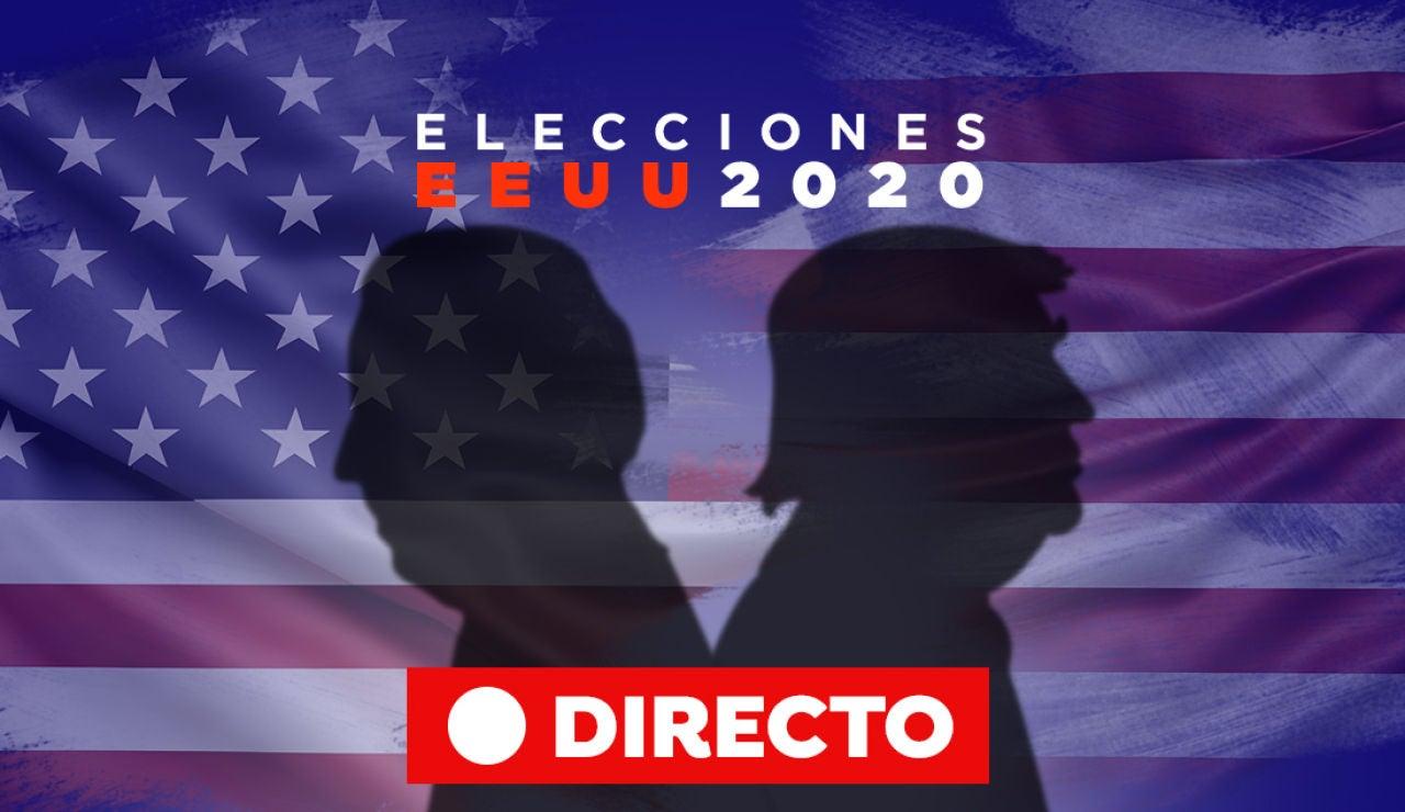 Elecciones EEUU 2020: Votaciones, encuestas, resultado y última hora de las elecciones de Estados Unidos, en directoq
