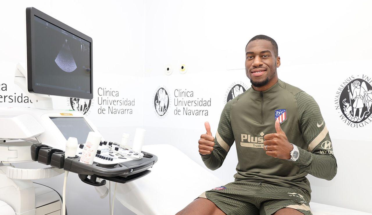 Geoffrey Kondogbia, nuevo jugador del Atlético de Madrid