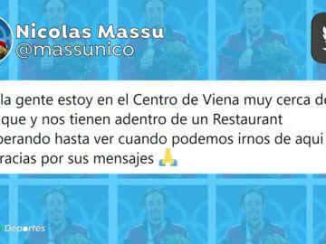 """El dramático relato del extenista Nicolás Massú de los atentados de Viena: """"Estuvimos ocho horas encerrados en un restaurante"""""""