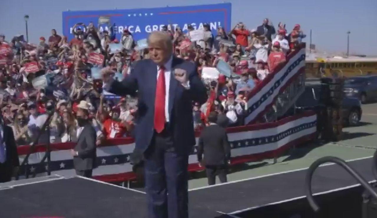 Donald Trump recopila en un vídeo sus bailes de la campaña de las elecciones de Estados Unidos