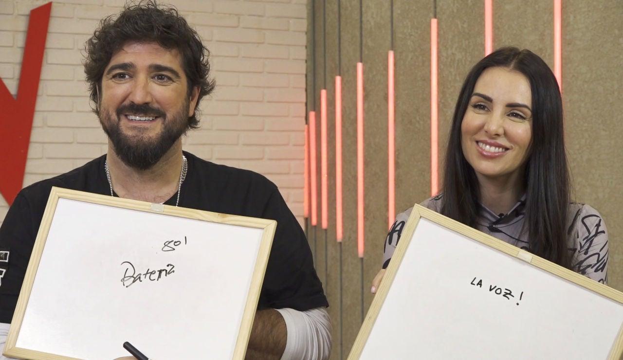 """Antonio Orozco y Mala Rodríguez, cómplices durante el juego de 'La Voz': """"¿Eres un romántico?"""""""
