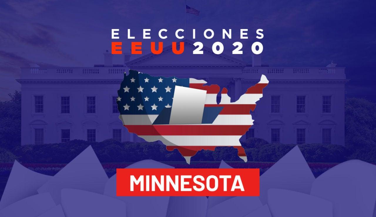 Elecciones EEUU 2020: Resultados de las elecciones de Estados Unidos en Minnesota