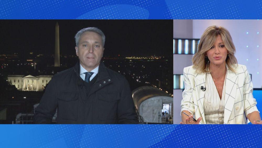 Vicente Vallés y Susanna Griso.