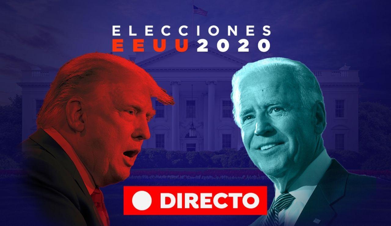 Elecciones EEUU 2020: Resultado de Donald Trump y Joe Biden y las votaciones de las elecciones de Estados Unidos, en directo