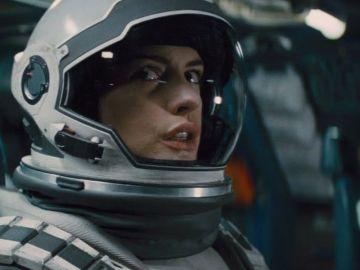 Anne Hathaway en 'Interstellar'