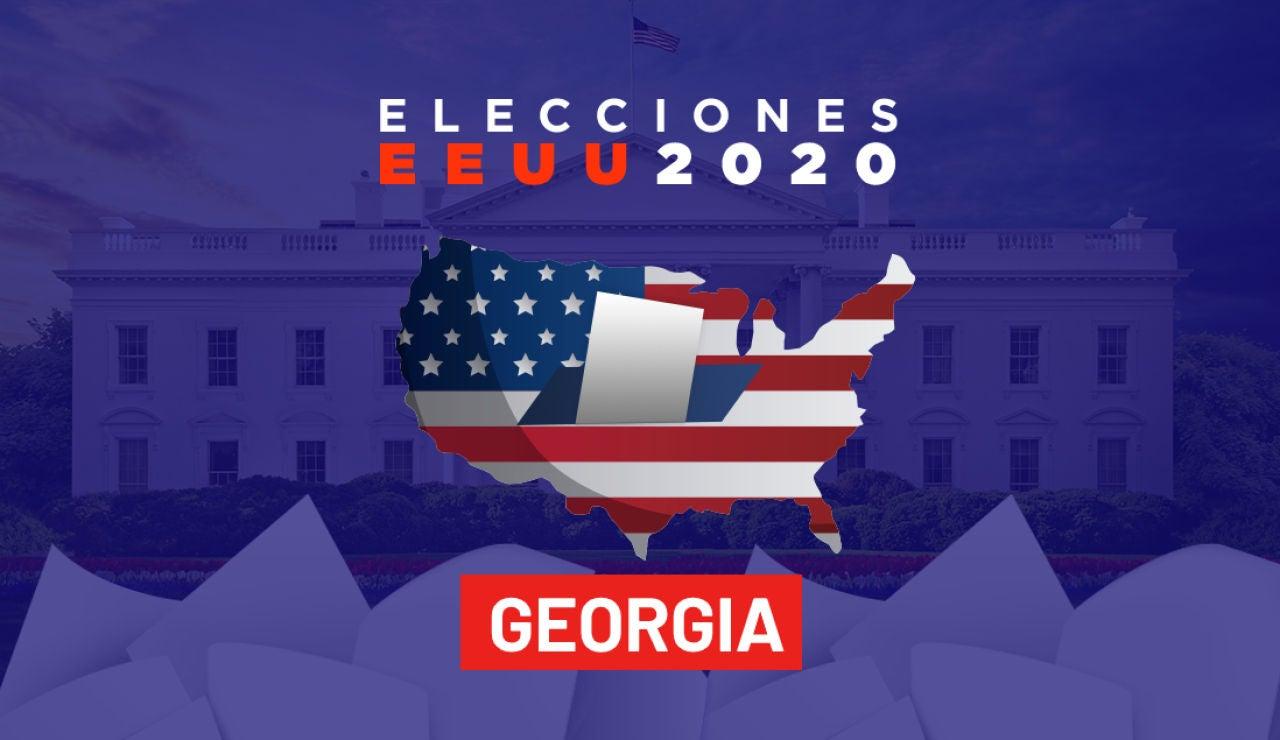 Elecciones Estados Unidos 2020: Resultado de las elecciones en el estado de Georgia