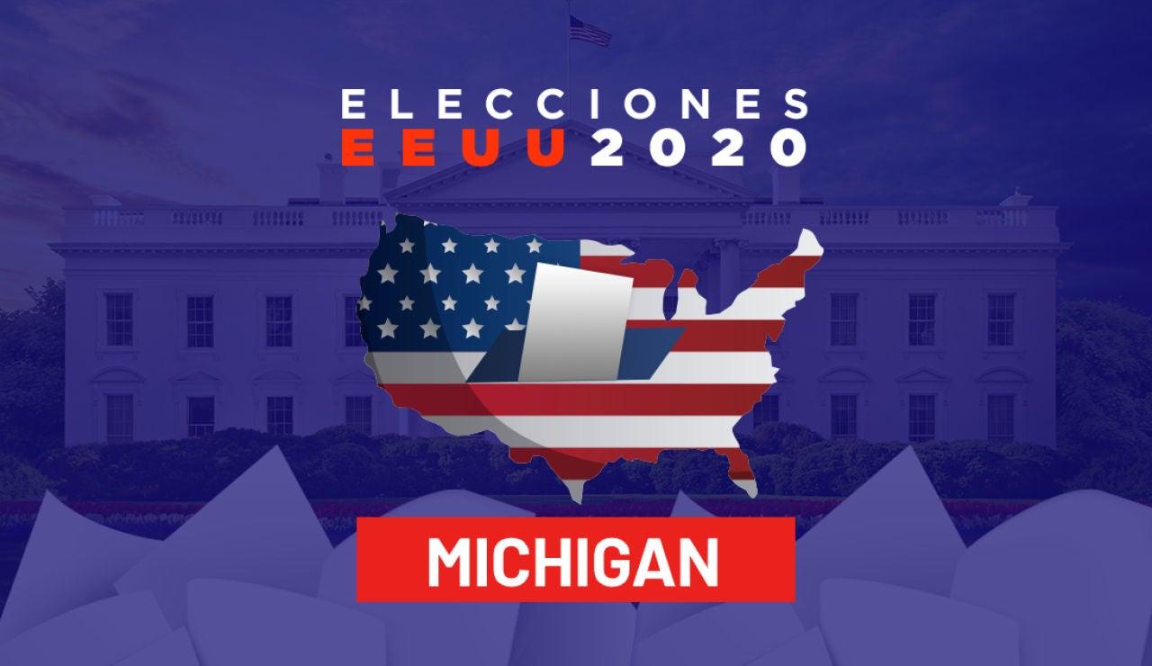 Resultado Elecciones Estados Unidos en Michigan