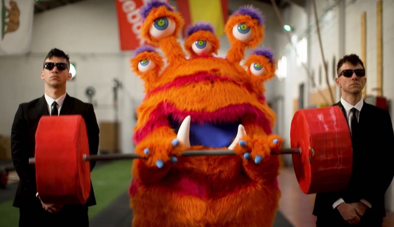 """El Monstruo, en sus primeras pistas: """"El deporte y yo vamos de la mano"""""""