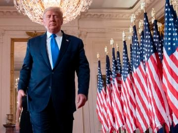 Donald Trump, actual presidente de Estados Unidos