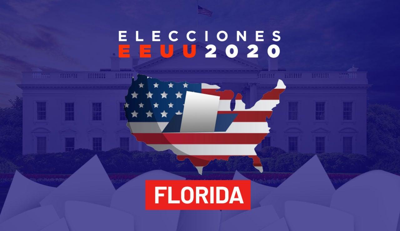 Resultados de las elecciones en el estado de Florida