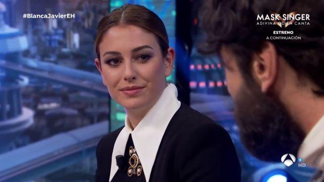Javier Rey habla de la equivocada primera impresión que se llevó cuando conoció por primera vez a Blanca Suárez en su entrevista juntos en 'El Hormiguero'