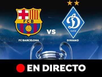 Barcelona - Dinamo de Kiev: Partido de hoy de Champions League, en directo