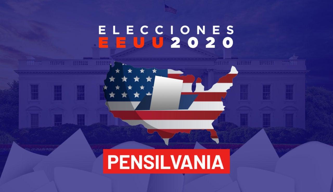Elecciones EEUU 2020: Resultados de las elecciones de Estados Unidos en el estado de Pensilvania