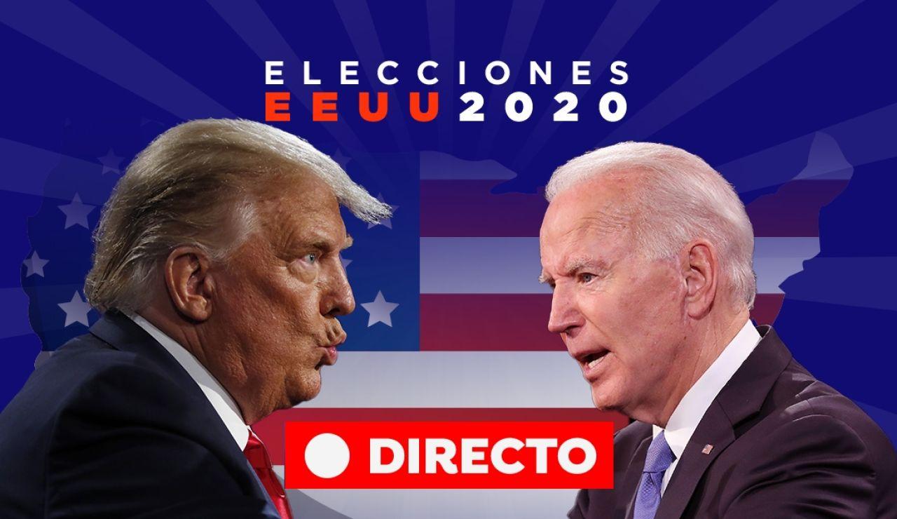 Elecciones EEUU 2020: Resultado y última hora de Donald Trump y Joe Biden, en directo