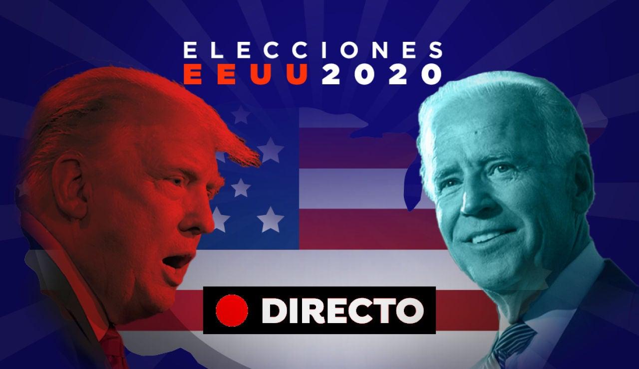 Elecciones EEUU 2020: Resultado de elecciones de Estados Unidos y última hora de Donald Trump y Joe Biden, en directo