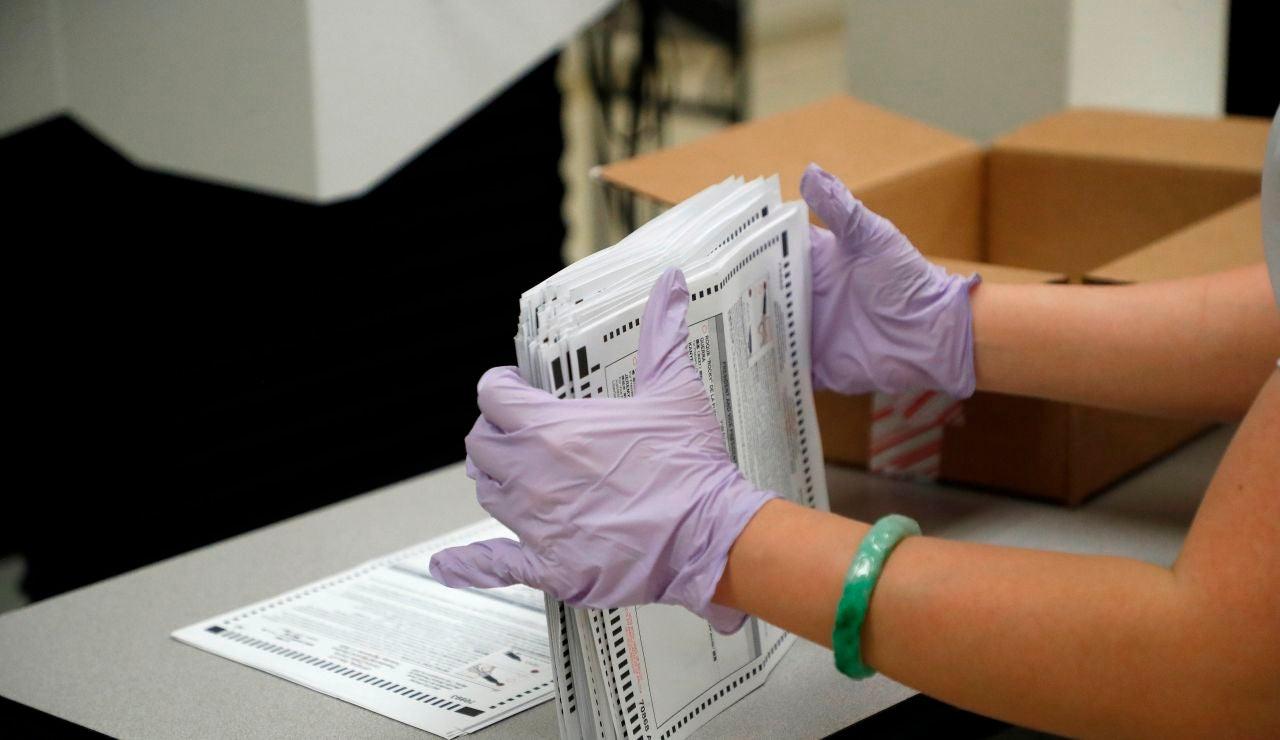 Una urna de votación en Estados Unidos