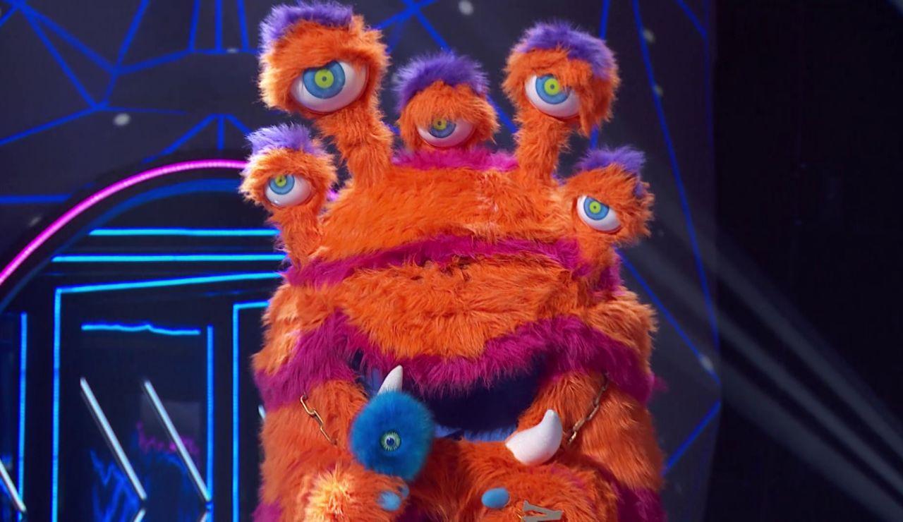 El Monstruo conquista con su ternura cantando 'Hay un amigo en mí' en el Duelo Final de 'Mask Singer'