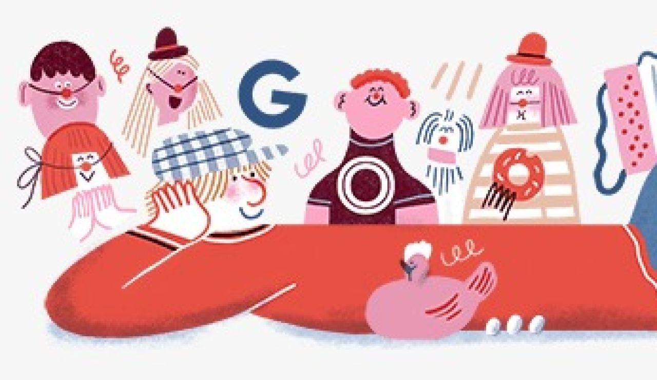 Google rinde homenaje a Miliki el día en que cumpliría 91 años con un Doodle
