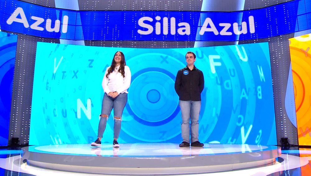 Nervios en la 'Silla Azul': Pablo y Bea se juegan ser concursantes de 'Pasapalabra'
