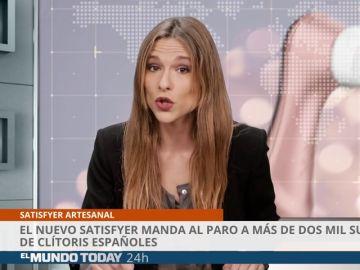El nuevo satisfyer manda al paro a más de dos mil succionadores de clitoris españoles