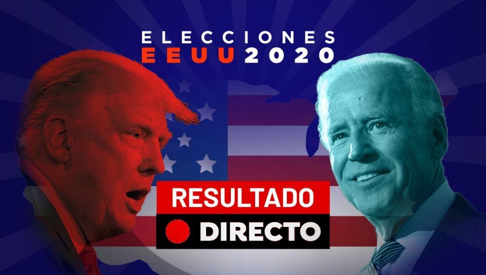 Elecciones EEUU 2020: Resultado, ganador y última hora de Joe Biden y Donald Trump, en directo