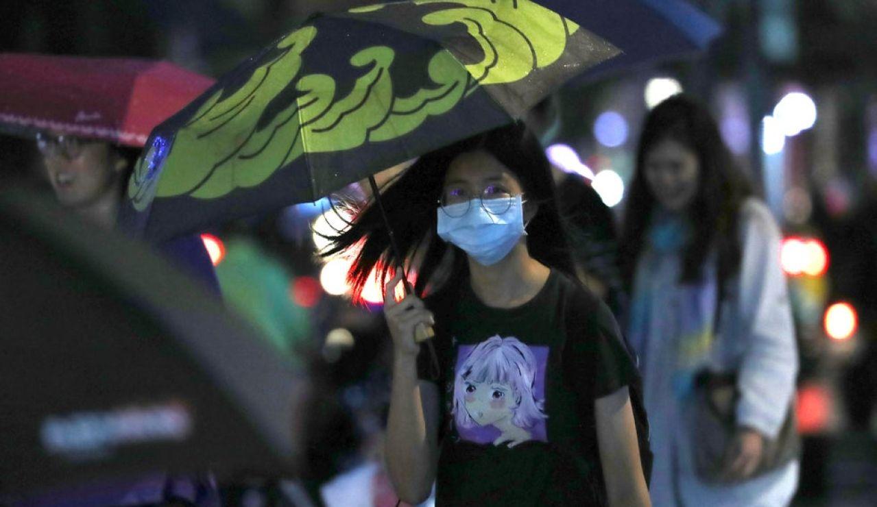 Confinamiento en Taiwán.