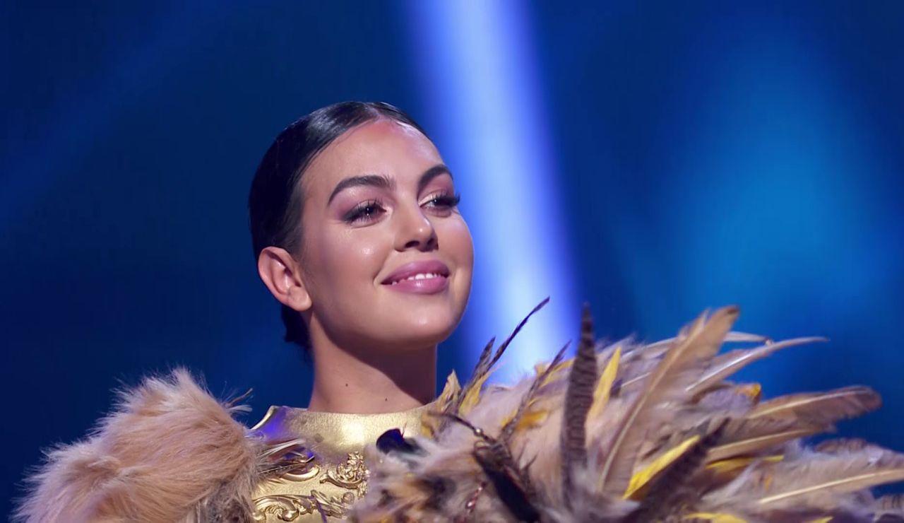 Georgina Rodríguez, la primera famosa que se quita la máscara en 'Mask Singer'