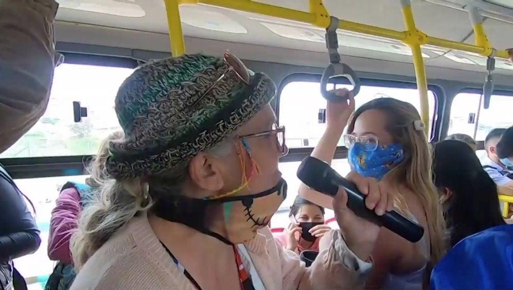 La venezolana de 69 años