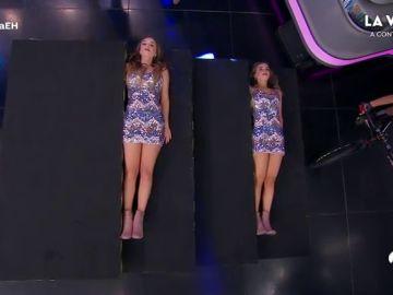 Retos extremos, baile y muchas risas, las Twin Melody conquistan a Sebastián Yatra en 'El Hormiguero 3.0'