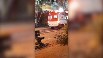 Su dueño de desplomó mientras estaban paseando y este perro no paró hasta que le dejaron acompañarle en la ambulancia