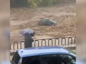 Rescates, cortes de carretera e inundaciones, los efectos del temporal sobre la Comunitat Valenciana