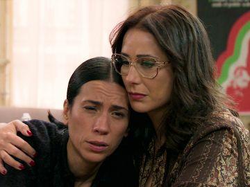 Manolita y Cristina, en un callejón sin salida tras seguir el rastro del broche