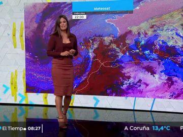 Fuertes vientos y abundantes precipitaciones, las protagonistas de este jueves