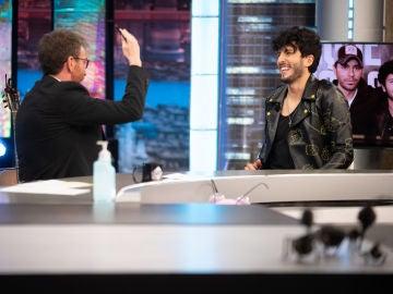 Sebastián Yatra revela que su ídolo era Enrique Iglesias... ¡y conoce en directo a Tamara Falcó!