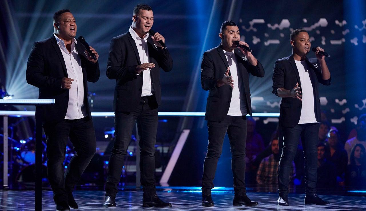 Southside canta 'Mirrors' en los Asaltos de 'La Voz'