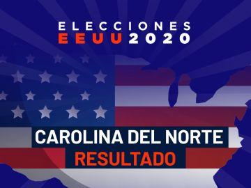 Elecciones EEUU 2020: Resultado del estado de Carolina del Norte