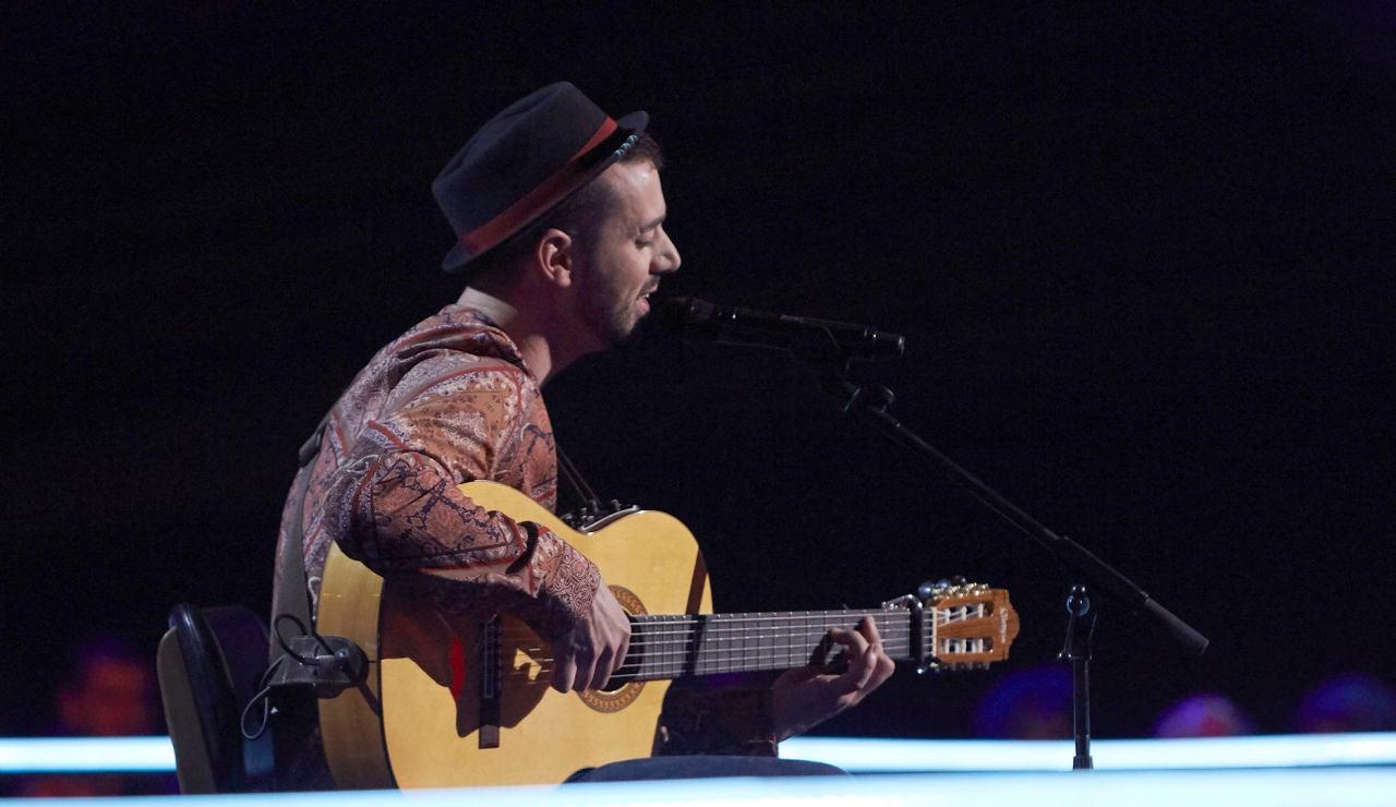 Cristian Segura canta 'Se dejaba llevar por ti' en los Asaltos de 'La Voz'