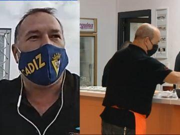 """Germán abre un bar en Cádiz en plena ola de restricciones por el coronavirus: """"Esto acabará pronto"""""""