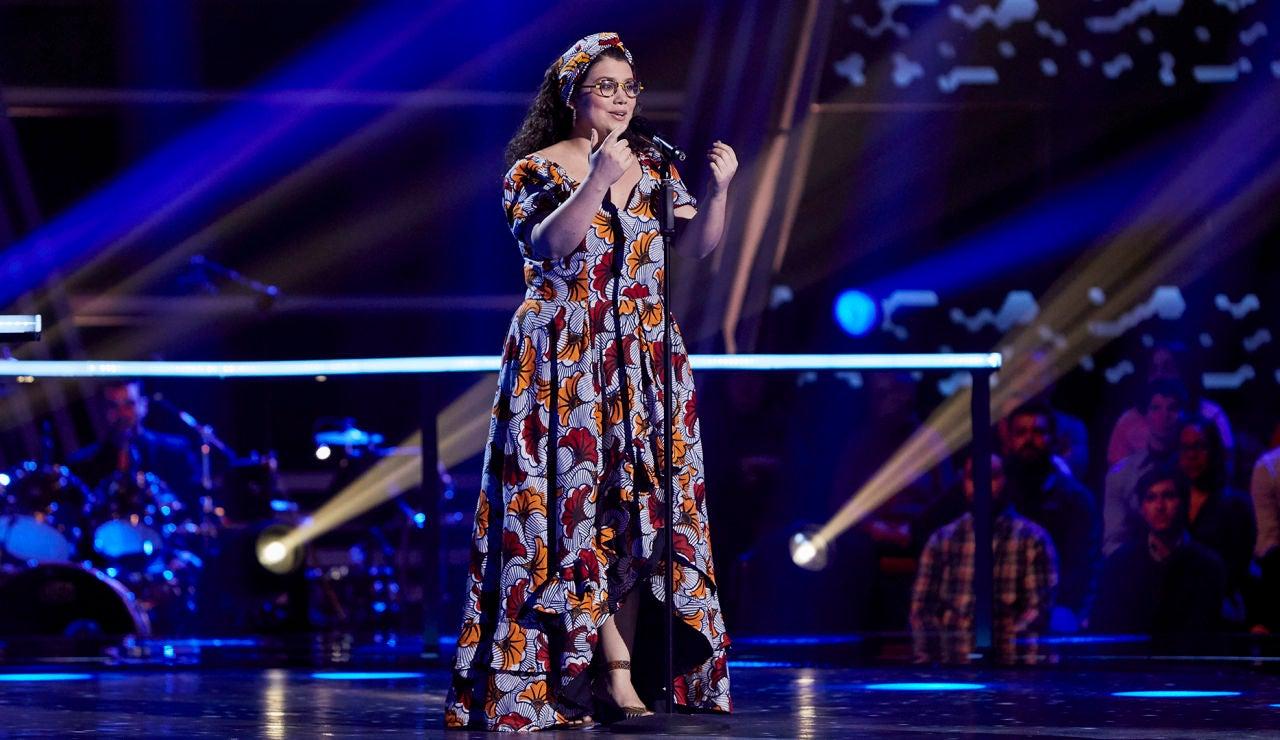 Julia Moya canta 'Lascia chio pianga' en los Asaltos de 'La Voz'