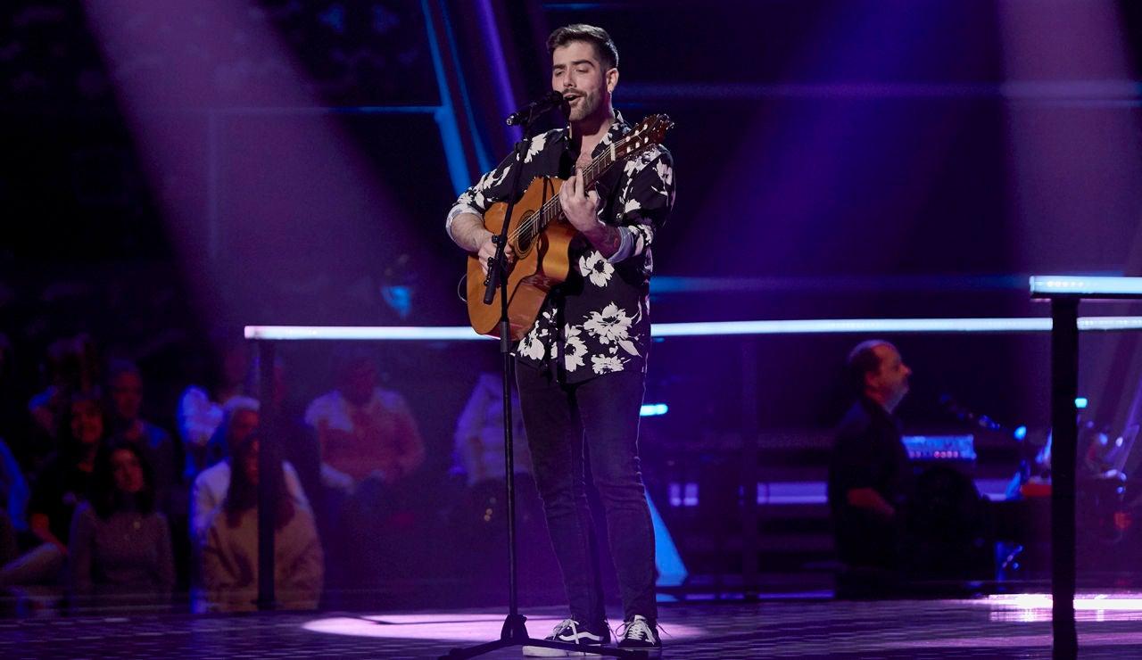 Miguelichi López canta 'El lado oscuro' en los Asaltos de 'La Voz'