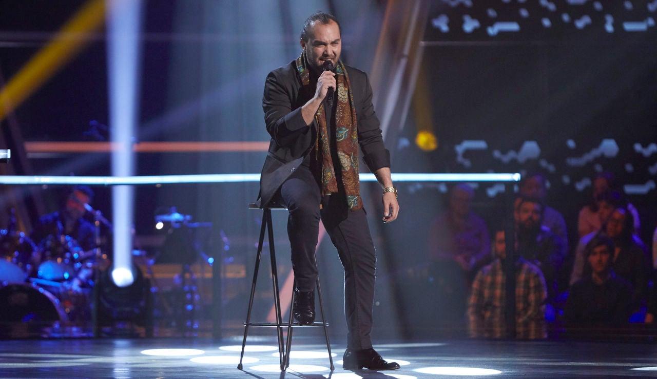 Antonio Villar canta 'Mediterráneo' en los Asaltos de 'La Voz'