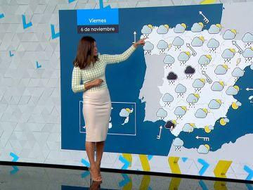Alerta amarilla este viernes en doce comunidades por  lluvia intensa y fuerte viento