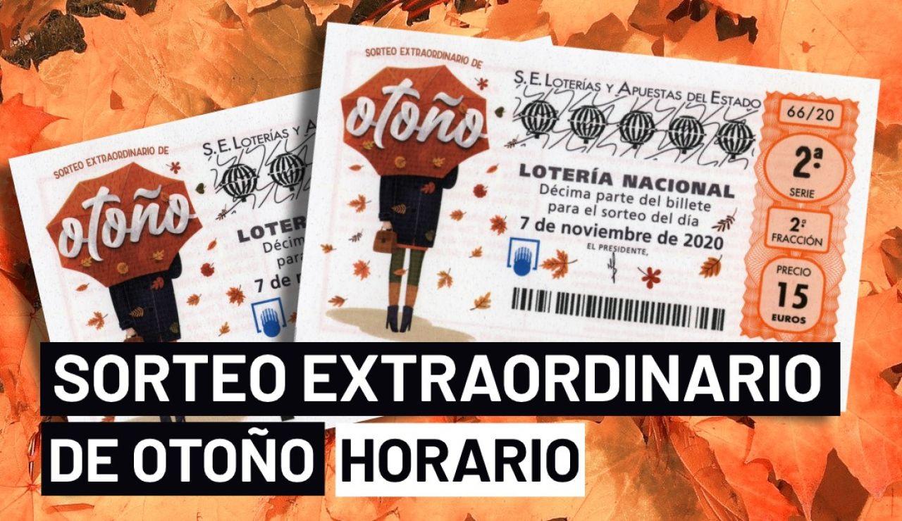 Sorteo extraordinario de otoño 2020: Horario y dónde ver el sorteo de la Lotería Nacional del 7 de noviembre