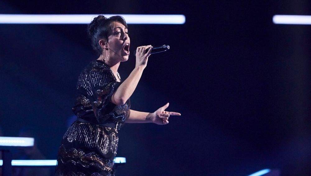 Carla Sánchez canta 'Don't stop believing' en los Asaltos de 'La Voz'