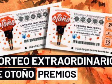 Sorteo Extraordinario de Otoño 2020: Premios del sorteo de la Lotería Nacional