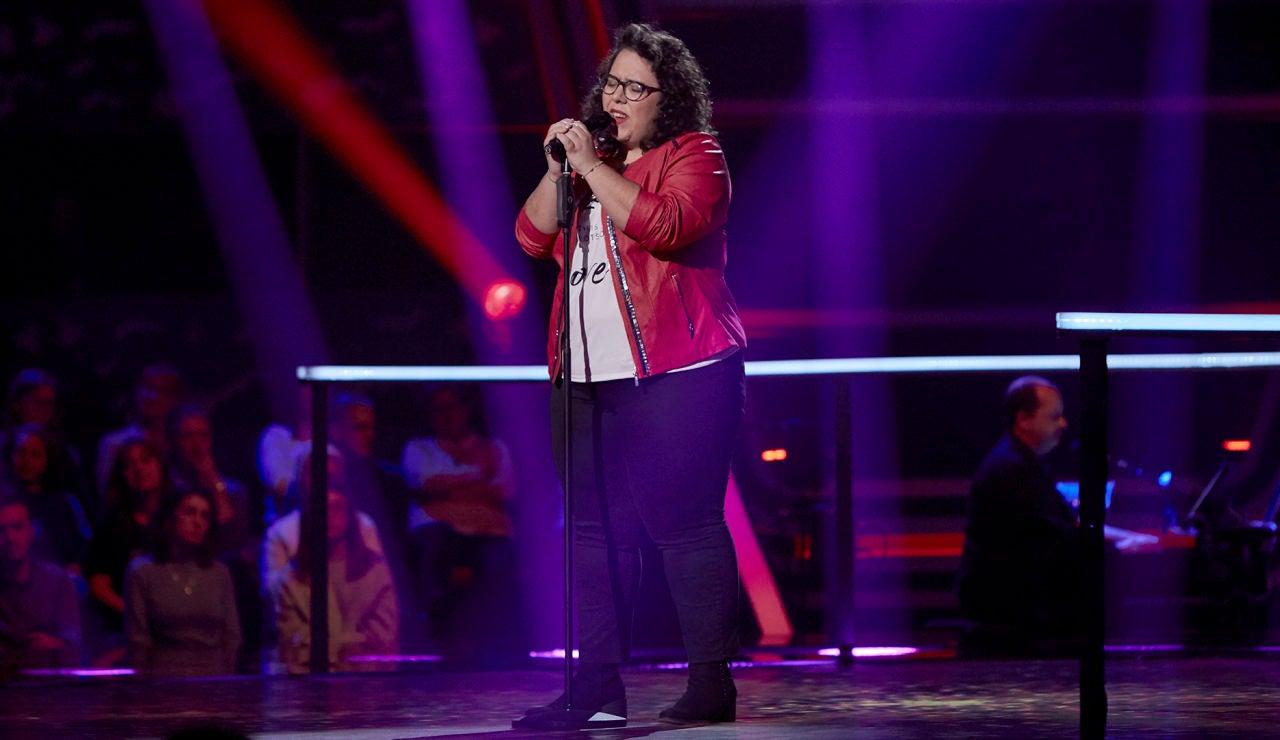 Marta Santos canta 'Garganta con arena' en los Asaltos de 'La Voz'