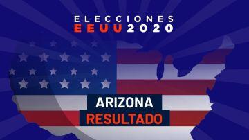 Resultados elecciones EEUU 2020 en Arizona