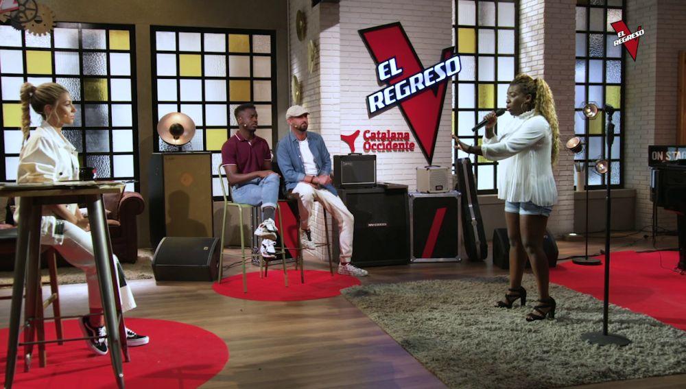 Betty Akna pone el ritmo con 'Ain´t Nobody' en 'El Regreso'