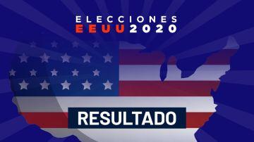 Resultado elecciones EEUU 2020: mapa electoral